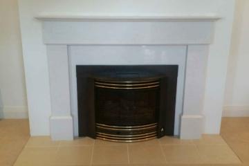 Caesarstone Fireplace 1