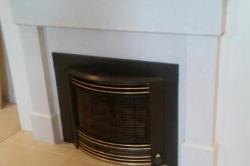 Caesarstone Fireplace 2